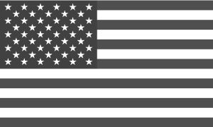 USA-flag-bw