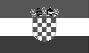 Croatia-flag-bw