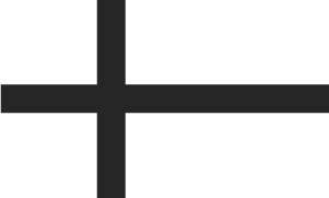 Finish flag in black and white