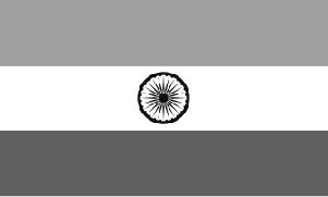 india-flag-bw