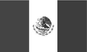 mexico-flag-bw