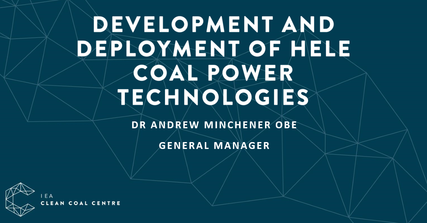 Development and deployment of hele coal power technologies