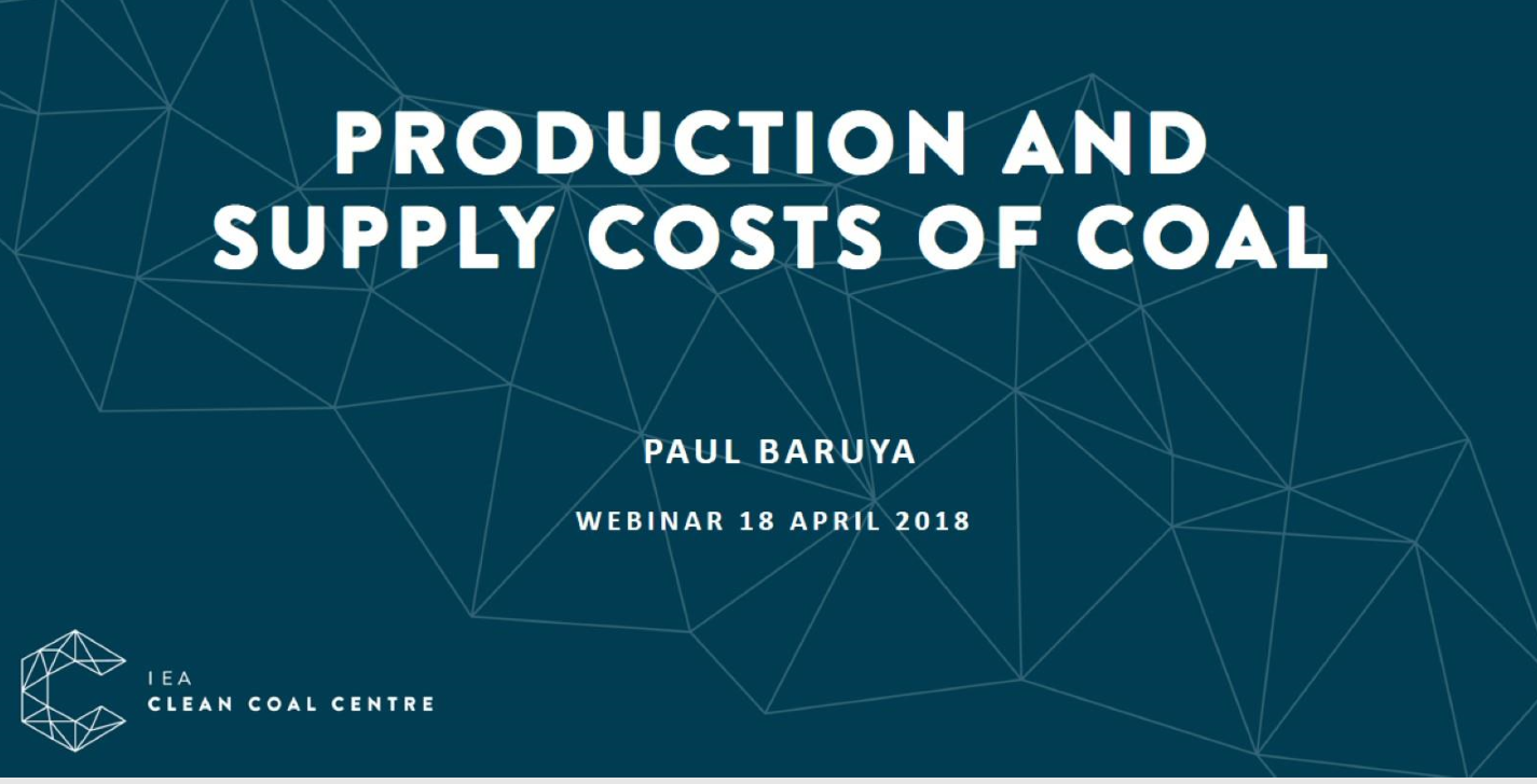 PRODUCTION AND SUPPLY COST OF COAL